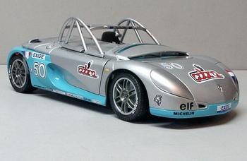 Renault spider sport Cobra # 50   1/18