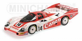 Porsche 956L Canon 1983 Lammers/Palmer/Lloyd 24h Le Mans #14  1/18