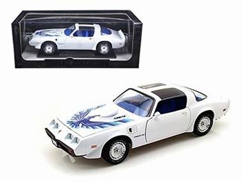 Pontiac Firebird  1980  T/A Wit White   1/18