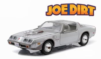 Pontiac Firebird 1979 Joe Dirt Zilver Silver   1/18