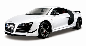 Audi R8 GT Wit White  1/18