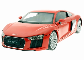 Audi R8 V10 Rood  Red  1/18