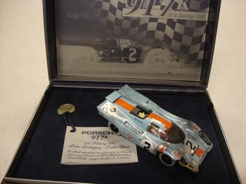 Porsche 917 K # 2 Limited Edition  n° 0714 Gulf edition  1/32