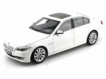 BMW 5 Serie Wit White  1/18