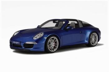 Porsche 991 Targa Blauw  Blue  1/18