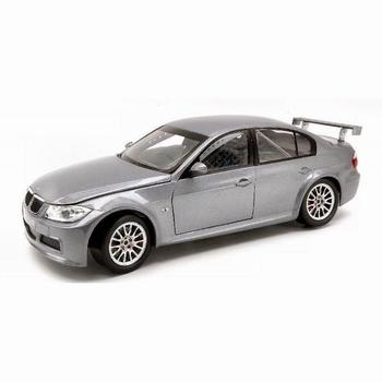 BMW 320 si WTCC Test car Zilver Silver  1/18