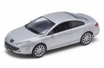 Peugeot 407 Zilver  Silver  1/18