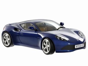 Artega GT Blauw  Blue  1/18