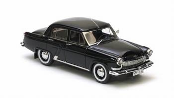 Gaz  21 R  Volga 1966 Zwart  Black  1/18