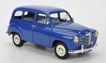 Renault Colorale Prairie 1953 Blauw  Blue   1/18