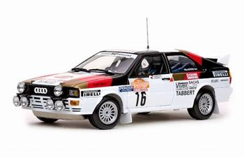 Audi Quattro Rally # 16 Demuth/Fischer Sanrema Rally 1982  1/18