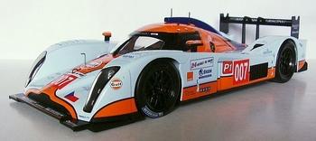 Aston Martin LMP1 # 007 Le Mans 2010 Gulf  1/18
