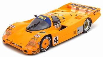 Porsche 962C  # 4  24h Le Mans 1988 Repsol  1/18