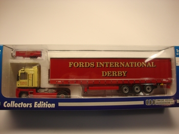 Renault Fords international derby Transport + sleutelhanger  1/50