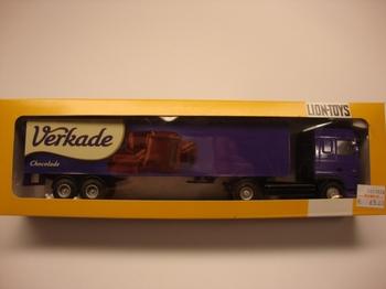 Daf 95 XF Verkade chokolade  1/50