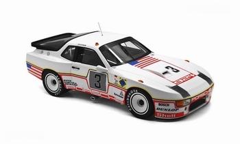 Porsche 924 Carrera GT Lemans 24 Hr # 3  Dulop  1/18