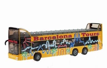 Dubbel dekker bus Barcelona Tours   1/87