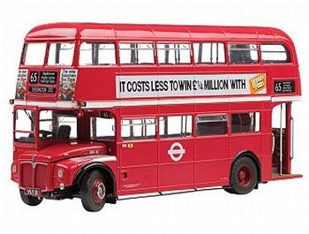 Routemaster London Dubbel  Dekker Rood  Red  1/24