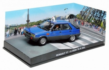 Renault 11 Taxi Paris James Bond A view to a kill  1/43