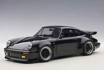 Porsche 911 ( 930 ) Turbo Wangan Midnight Black Bird  1/18
