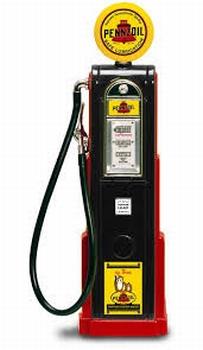 Benzine pomp - naft pomp Pennzoil  1/18