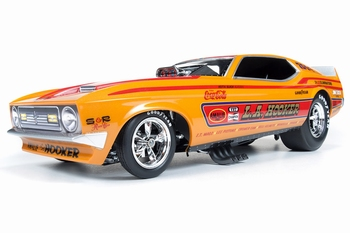 Ford Mustang 1972 Funny Car L,A,Hooker   1/18