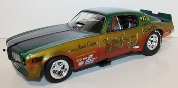 Pontiac Firebird 1970 Funny Car Don & Roy multi color  1/18