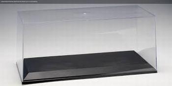 Autoart Vitrine box voor 1/18 modellen met zwarte voet  1/18