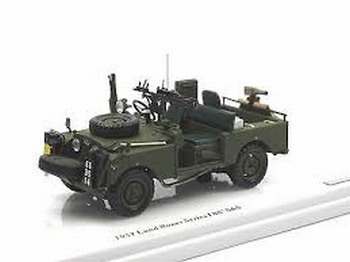 Land Rover Series I  86 SAS 1957 Groen  Green  1/43