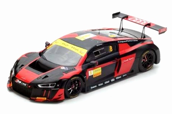 Audi R8 LMS # 8 Winner Macau GT World Cup 2016  1/18