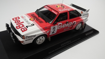 Audi Quattro A2 Belga Team winners Boucles de Spa 1985  1/18