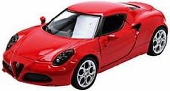 Alfa Romeo 4 C Rood Red  1/24