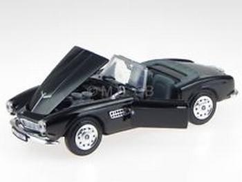 BMW 507 Zwart  Black Cabrio  1/24