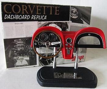 Corvette Dachboard replica 1/6 Rood Red