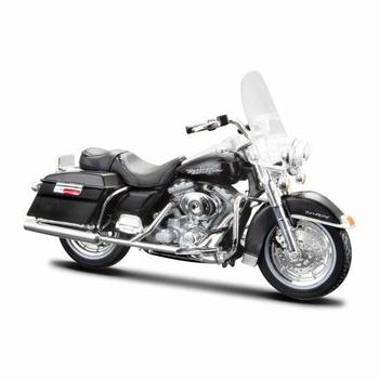 Harley Davidson 1999 FLHR Road King Zwart Black  1/18