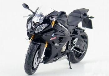BMW S1000 RR Zwart Black  1/12