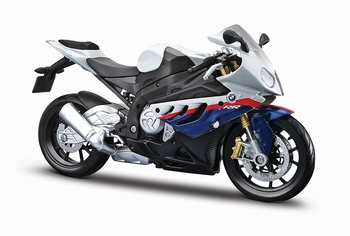 BMW  S1000RR wit blauw rood  White blue red  1/12