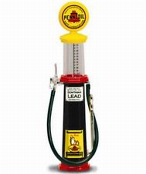 Benzinepomp Pennzoil met meetglas  1/18