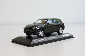 Porsche Cayenne Platium edition Zwart  Black  1/43