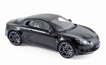 Alpine A110 Première Edition 2017 Zwart  Black  1/18