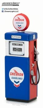 Benzinepomp Gas pump1951  Chevron Supreme Wayne 505  1/18