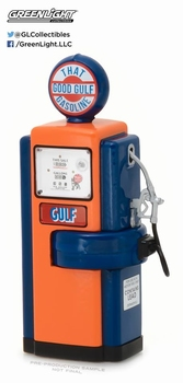 Benzinepomp Gas pump1948 a Good Gulf oil Wayne 100  1/18