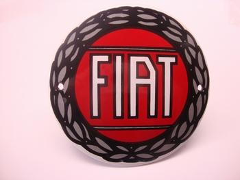 Fiat Ø 10 cm Emaille