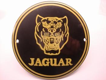 Jaguar Ø 10 cm Emaille
