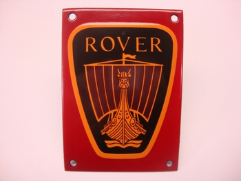 Rover 10 x 14 cm Emaille