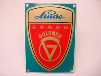 Linde Guldner 10 x 14 cm Emaille