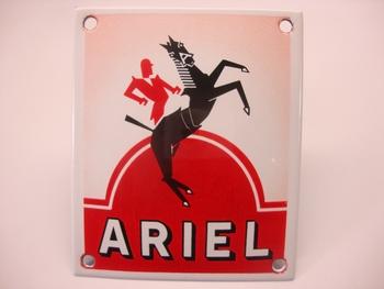 Ariel 10 x 12 cm Emaille