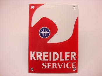 Kreidler Service 10 x 14 cm Emaille