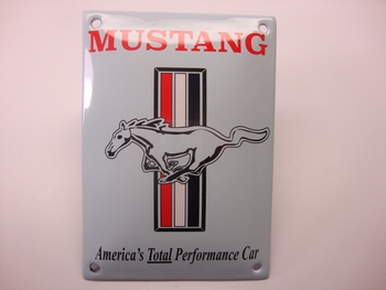 Mustang 10 x 14 cm Emaille