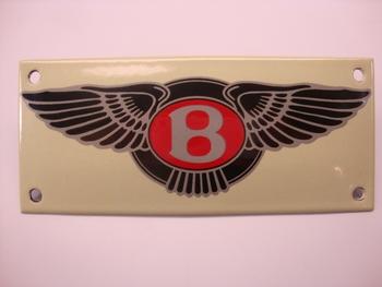 Bentley 14 x 6 cm Emaille